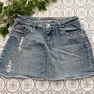Bubblegum 90's denim skirt